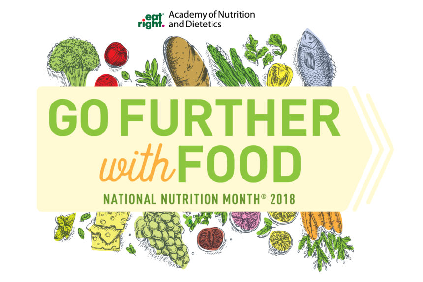 National Nutrition Month 2018
