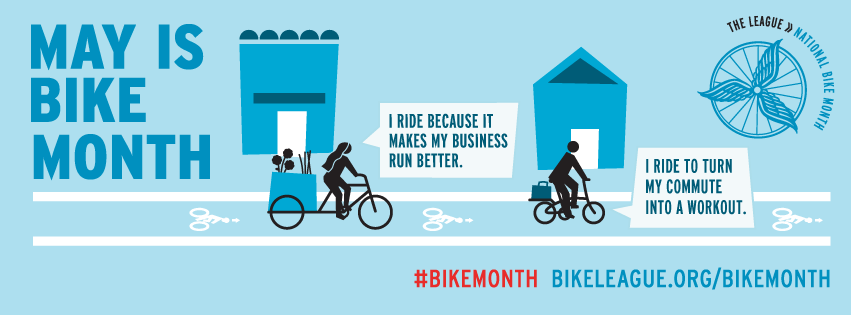 Gear Up! May is Bike Month